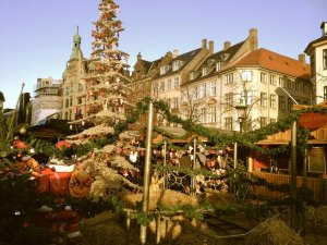 Christmas Market on Stroget